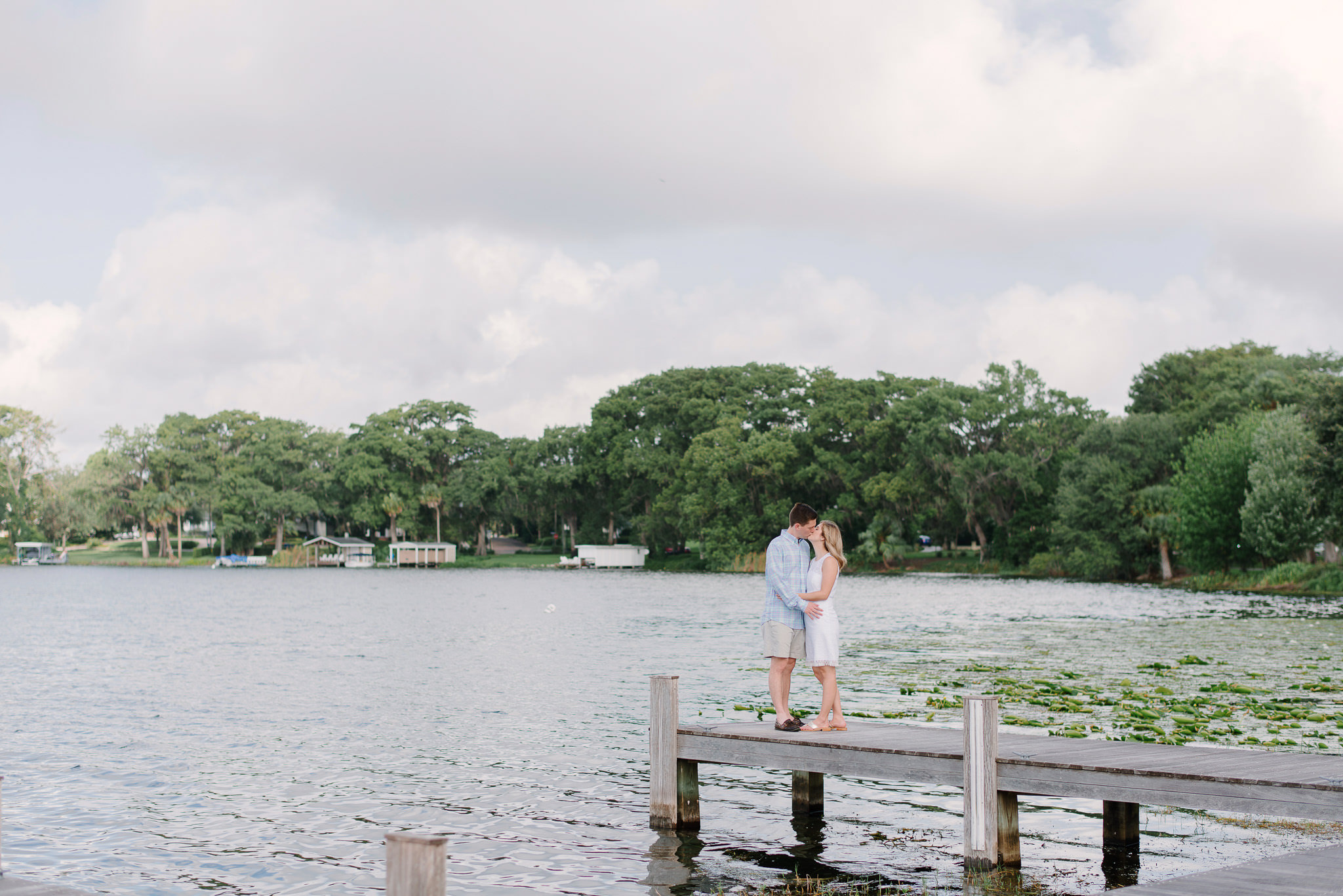 Engagement Session at Rollins College