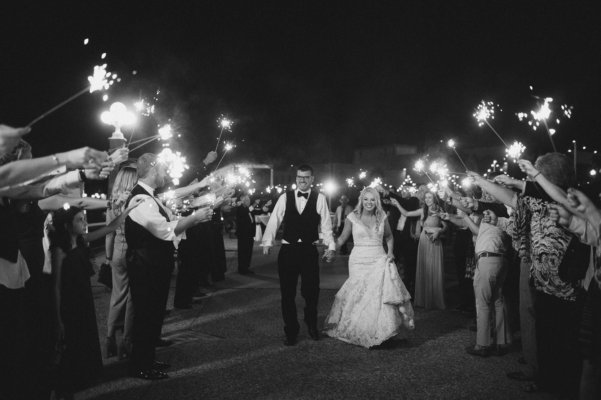 Elegant Downtown Lakeland Wedding around Lake Mirror
