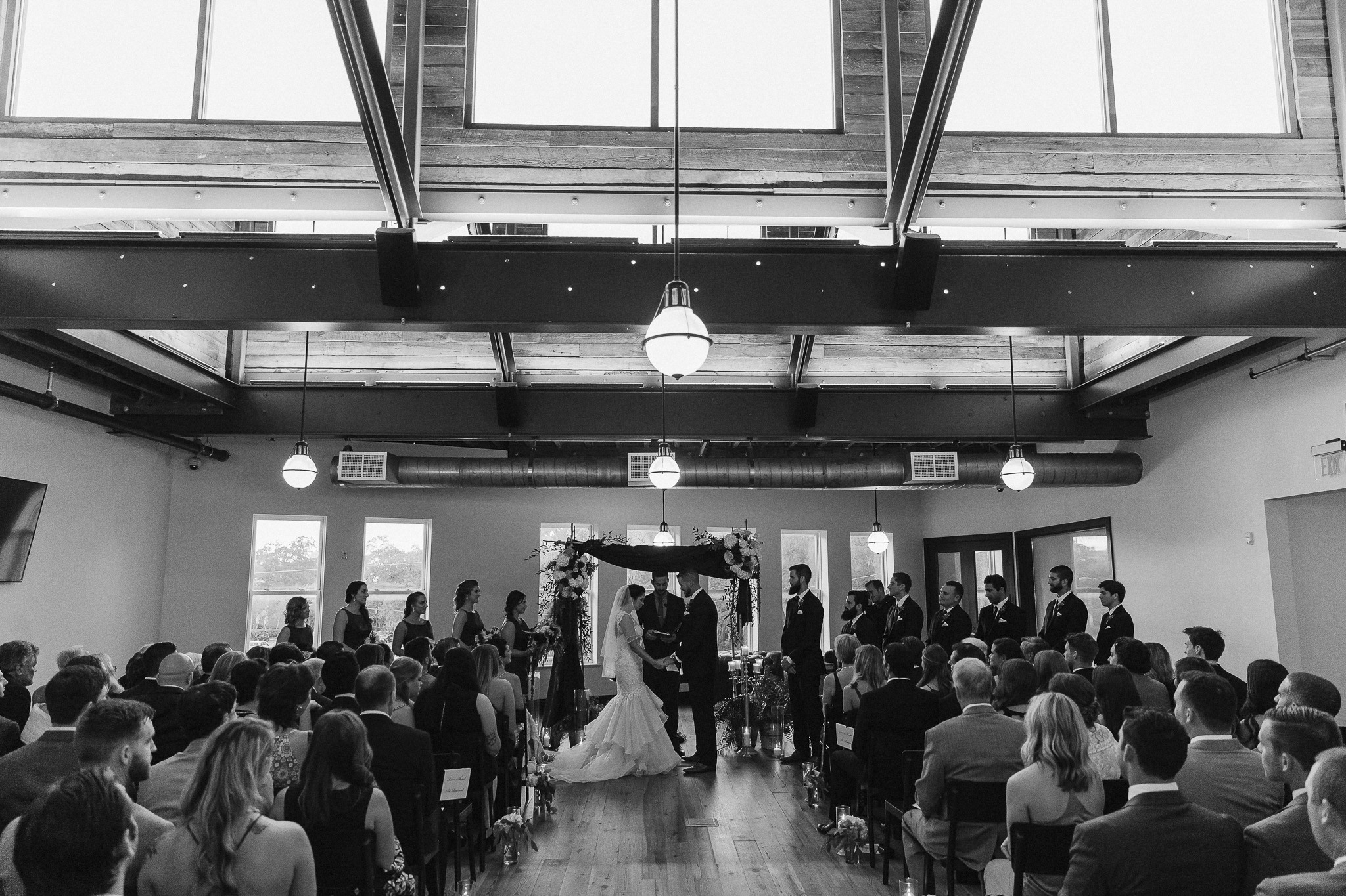 Oxford Exchange Industrial Evening Wedding Tampa Florida