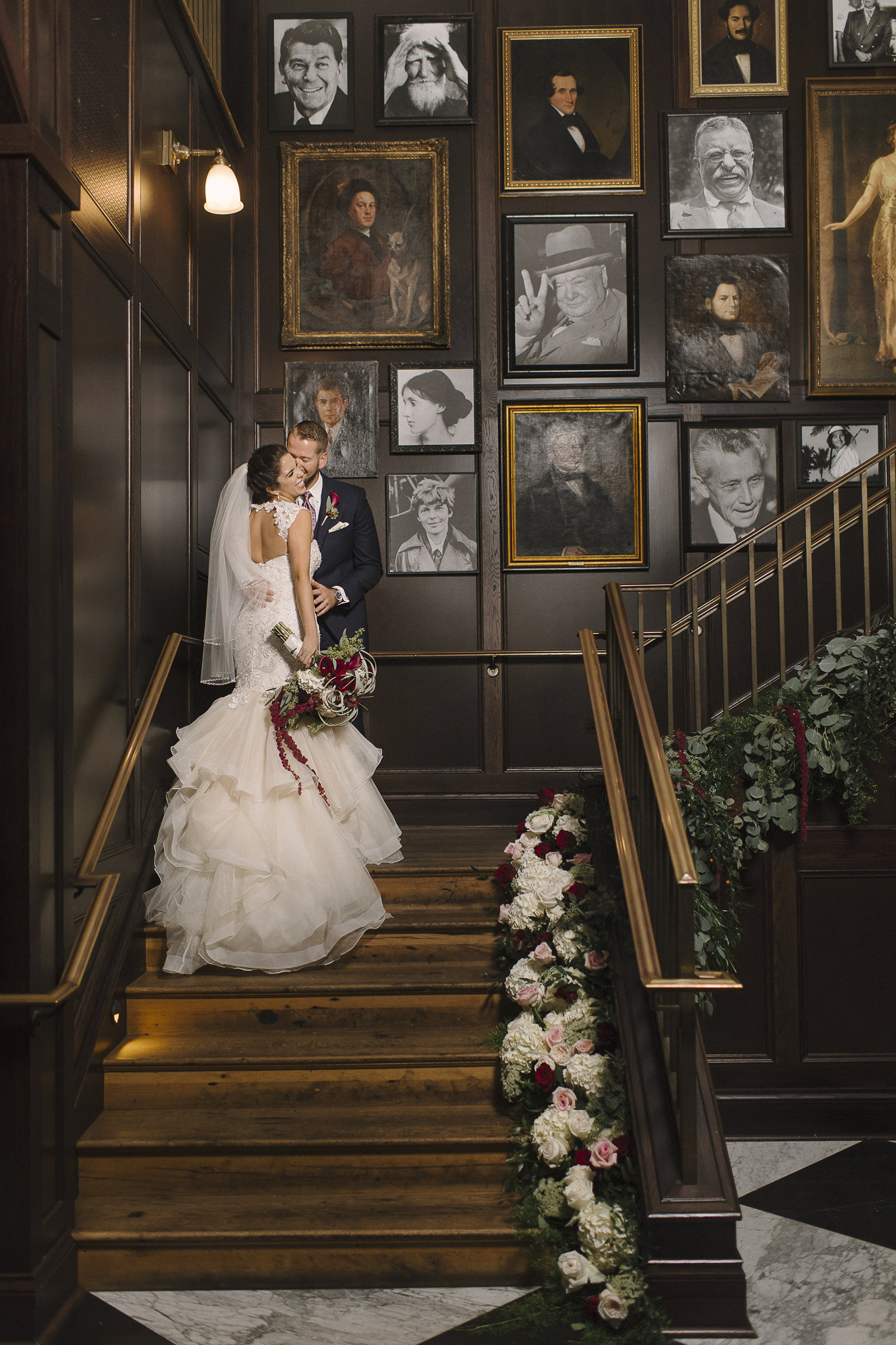 Oxford Exchange Industrial Evening Wedding Tampa Florida