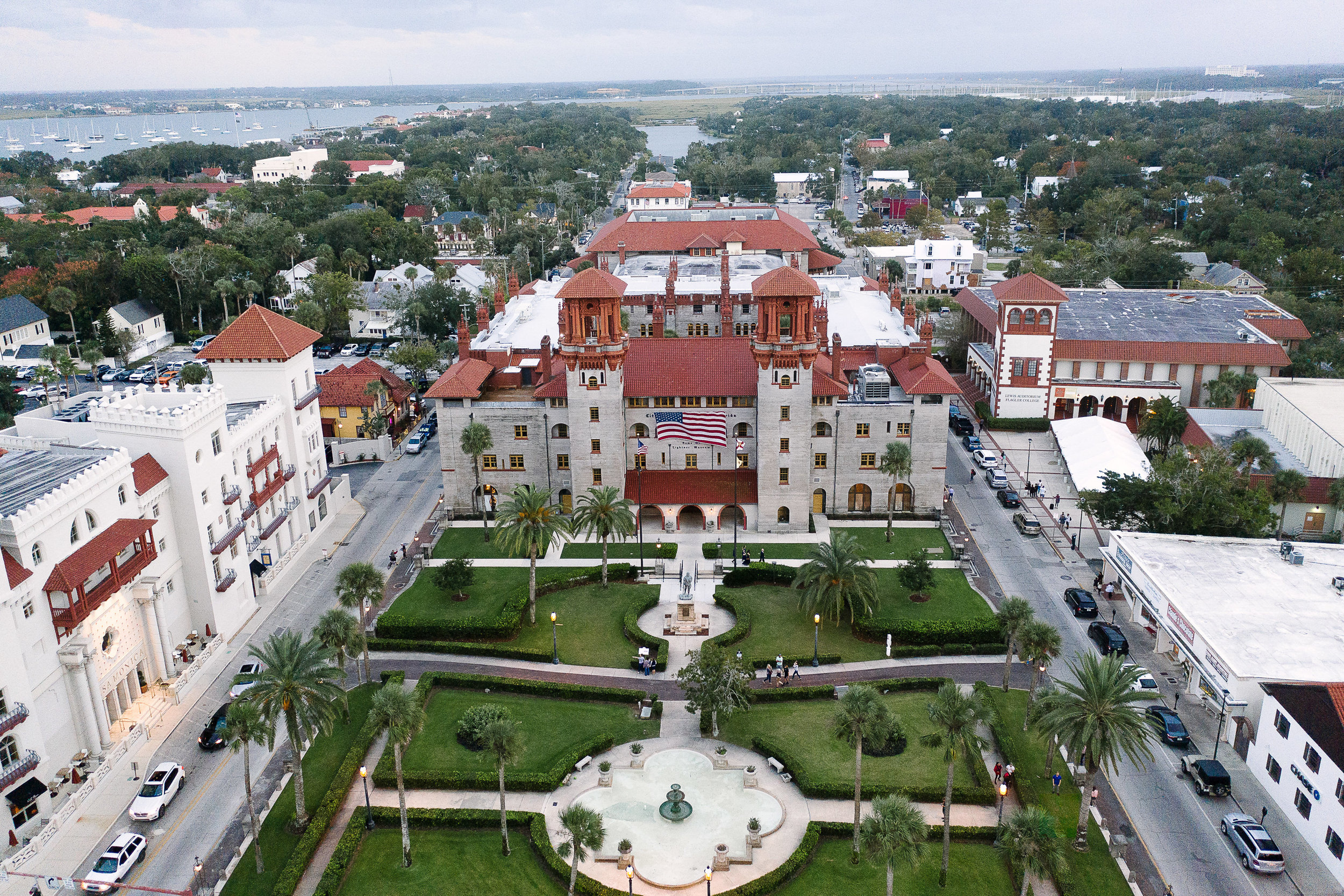 St Augustine Florida Drone Pictures