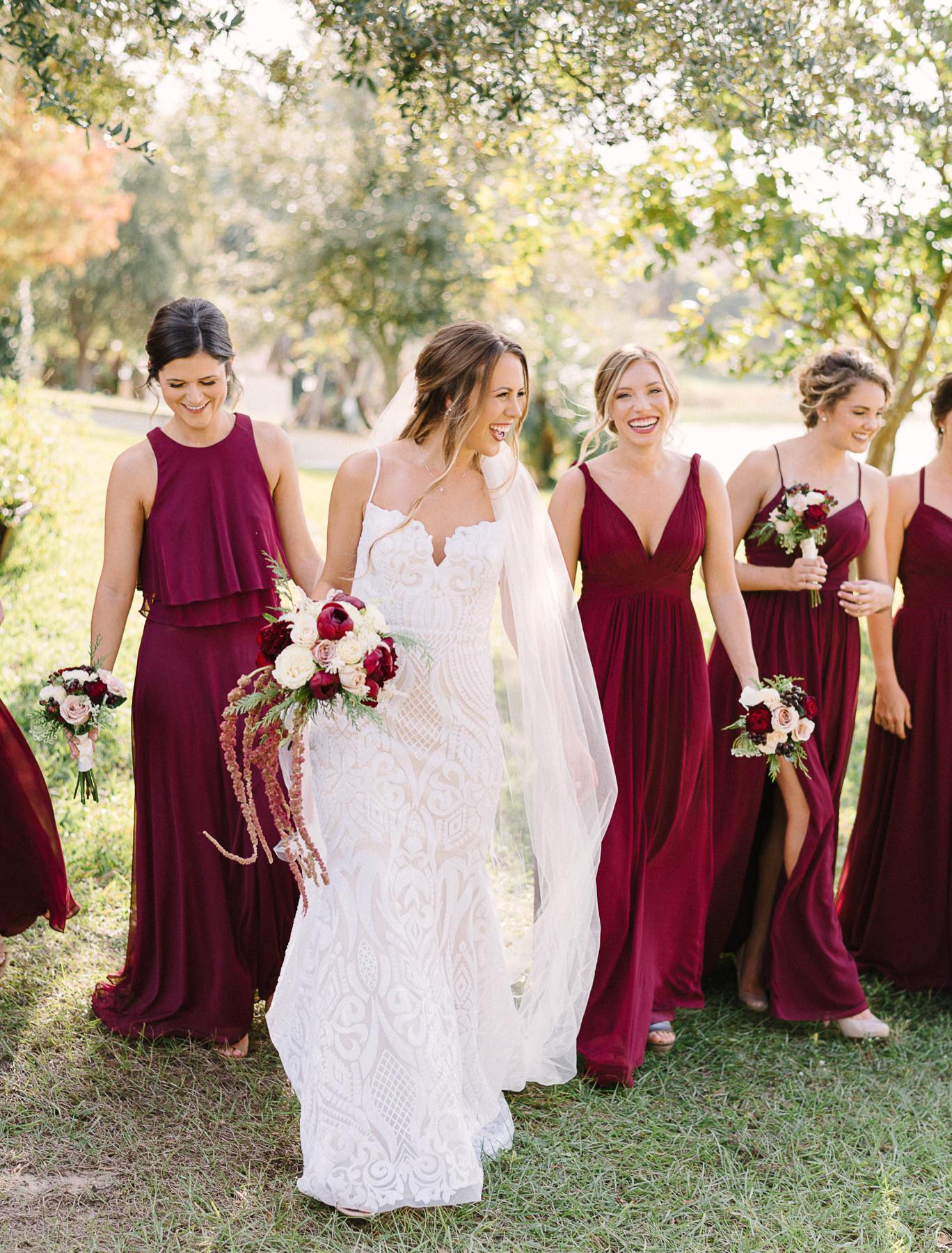 Florida Backyard Lakeside Wedding