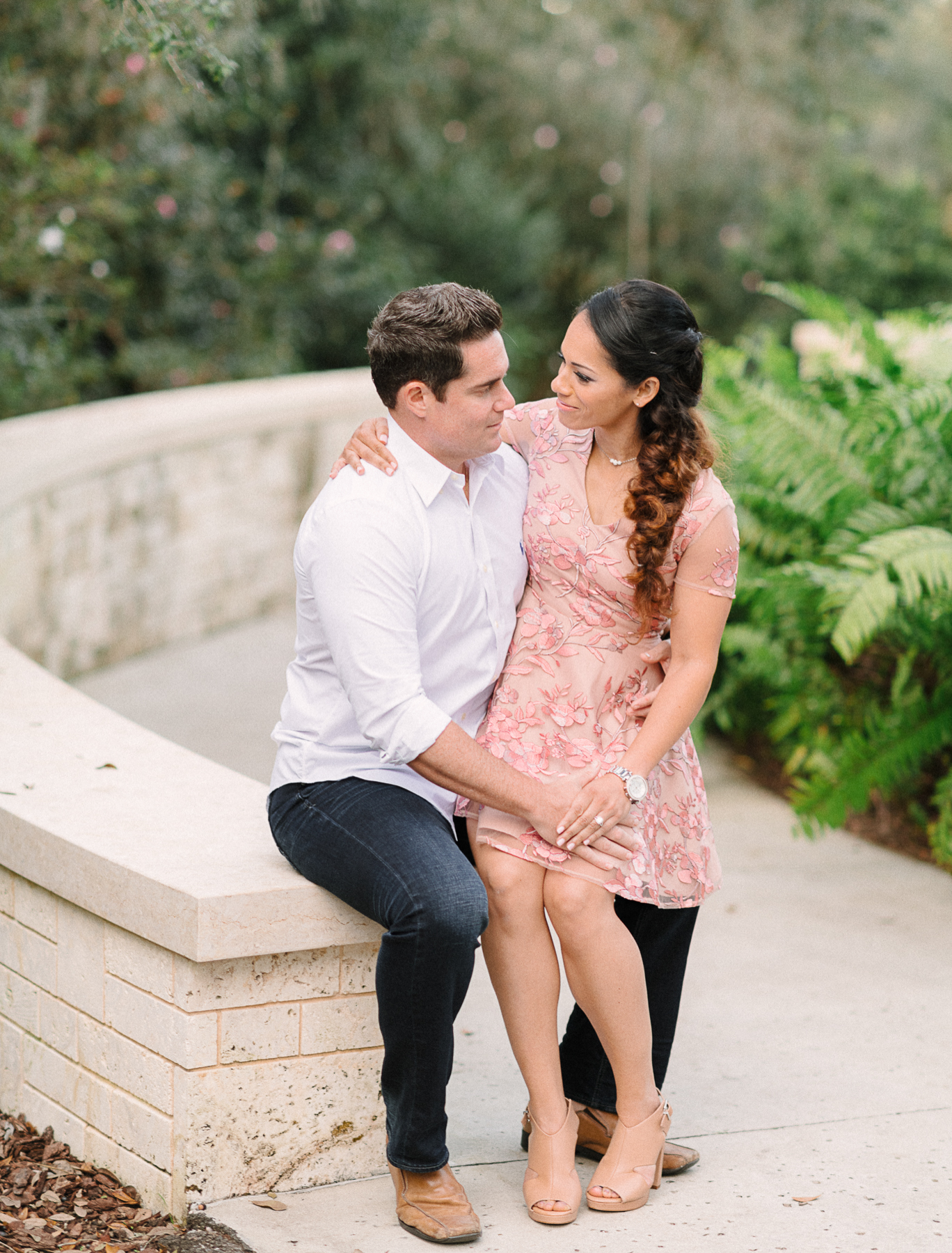 Bok Tower Engagement Photographs