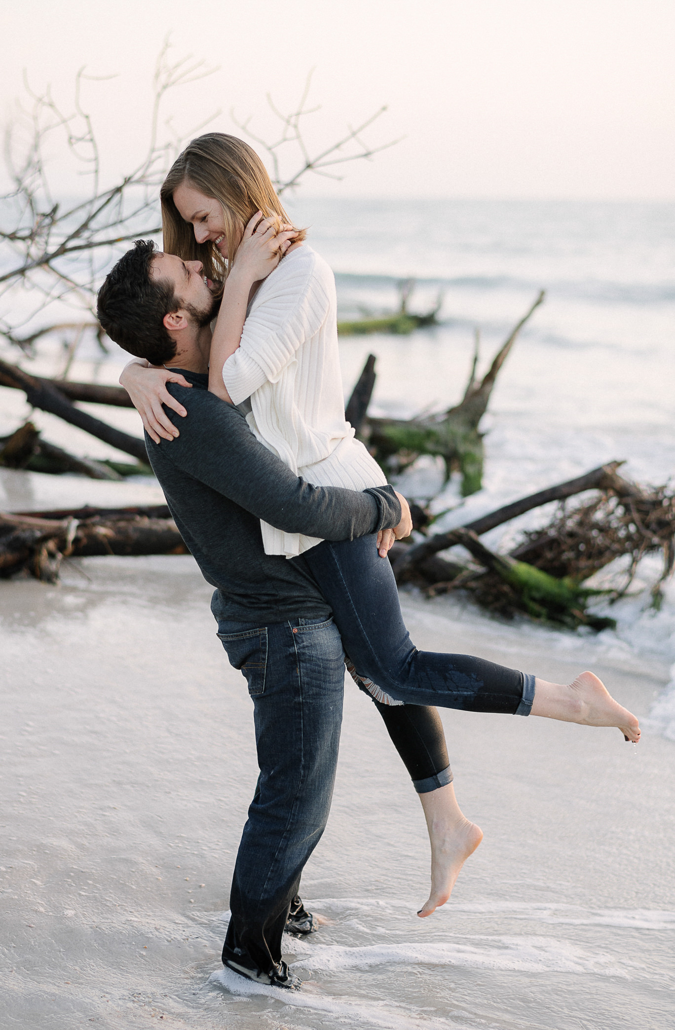 Beer Can Island Florida Engagement Session
