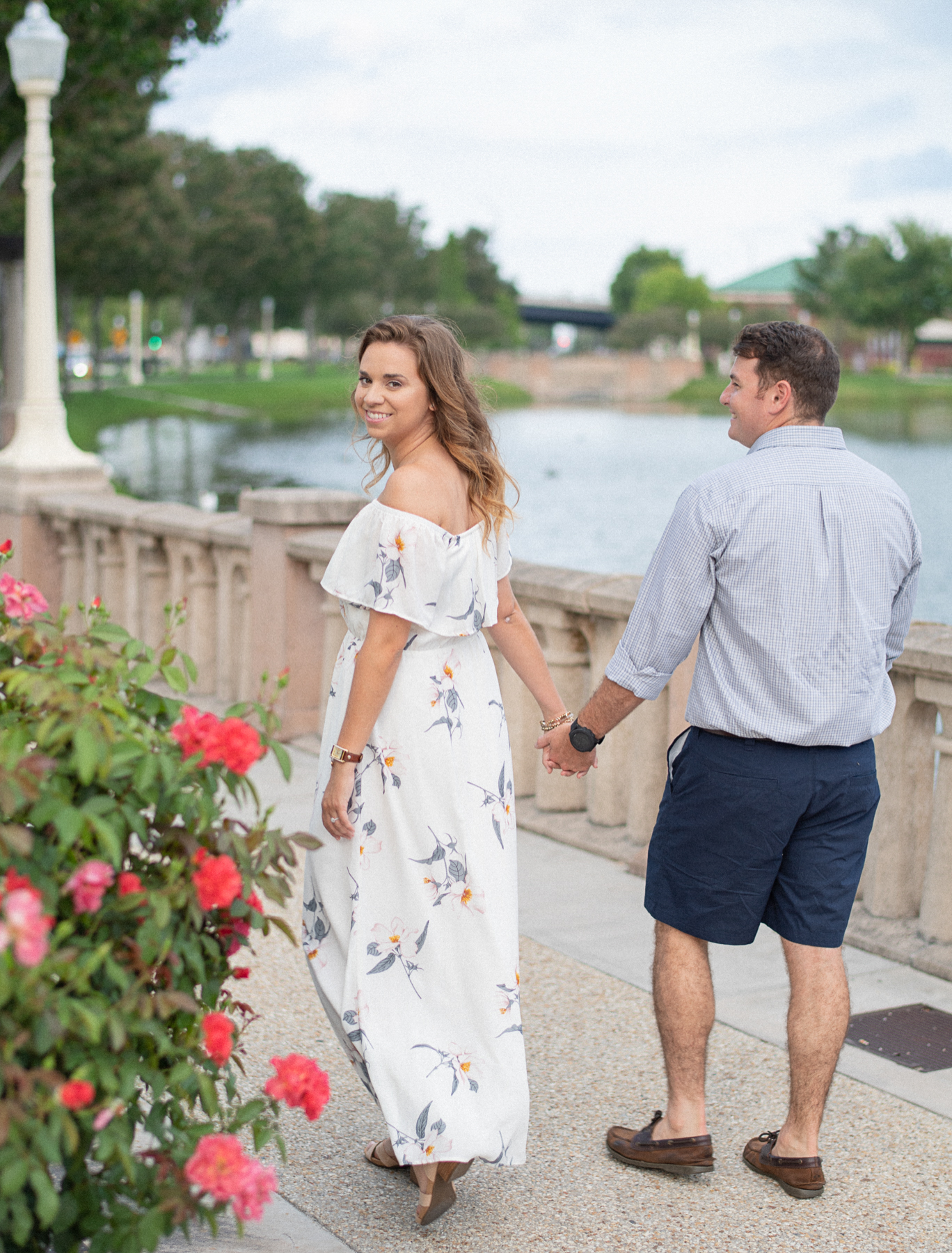 Downtown Lakeland Engagement Session