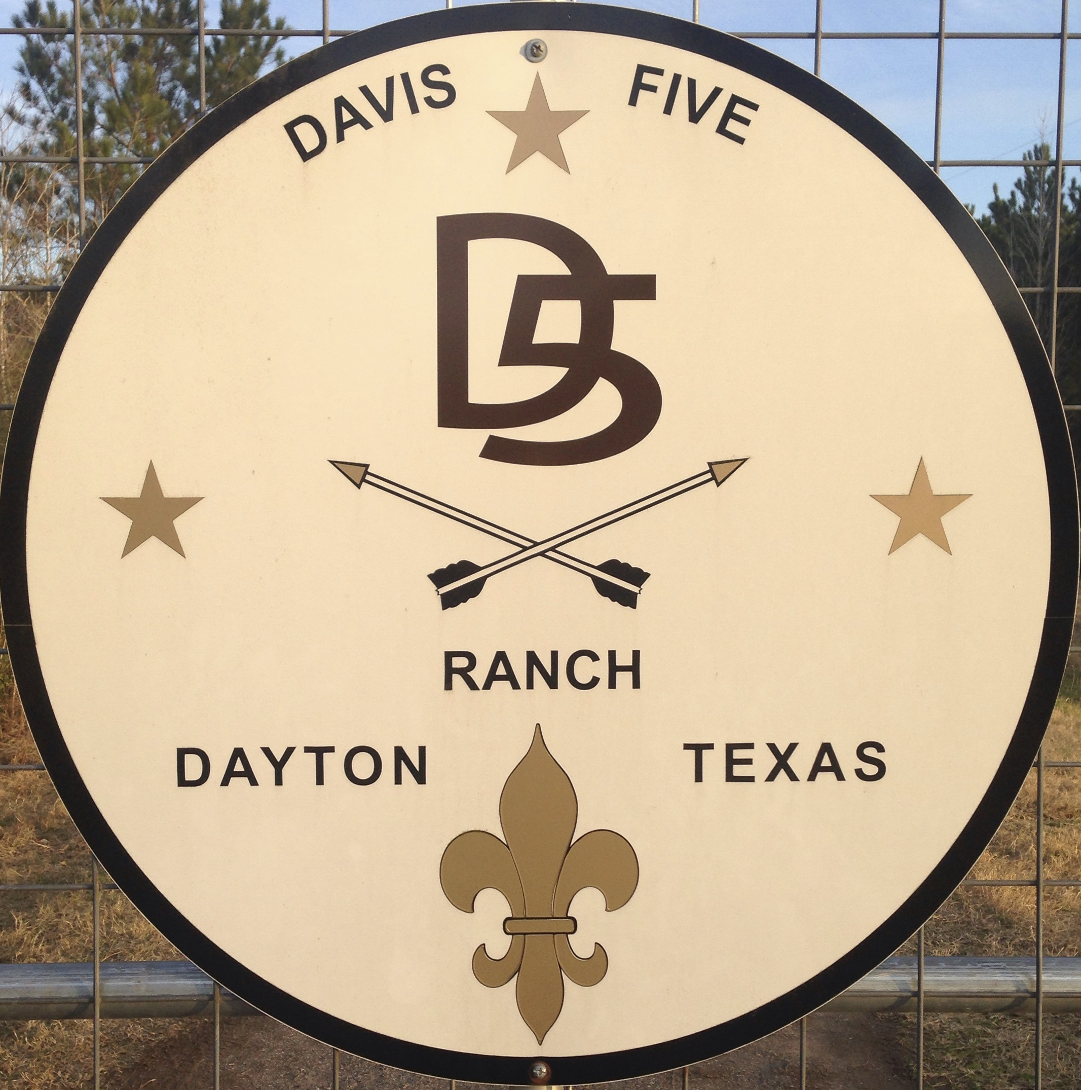 Davis 5 Ranch Sign