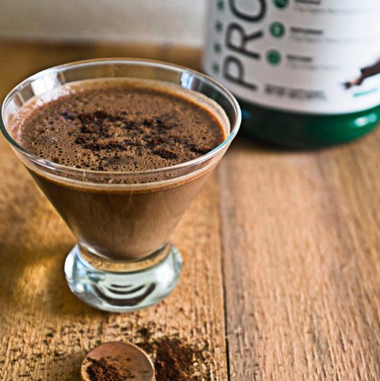 PR3 protein coffee blend