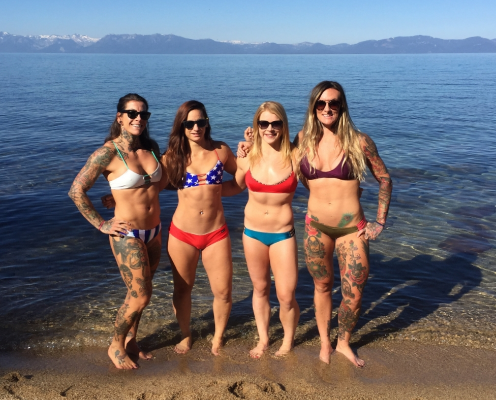 Fourth of July in Lake Tahoe with Chloie, Amber and Krissy