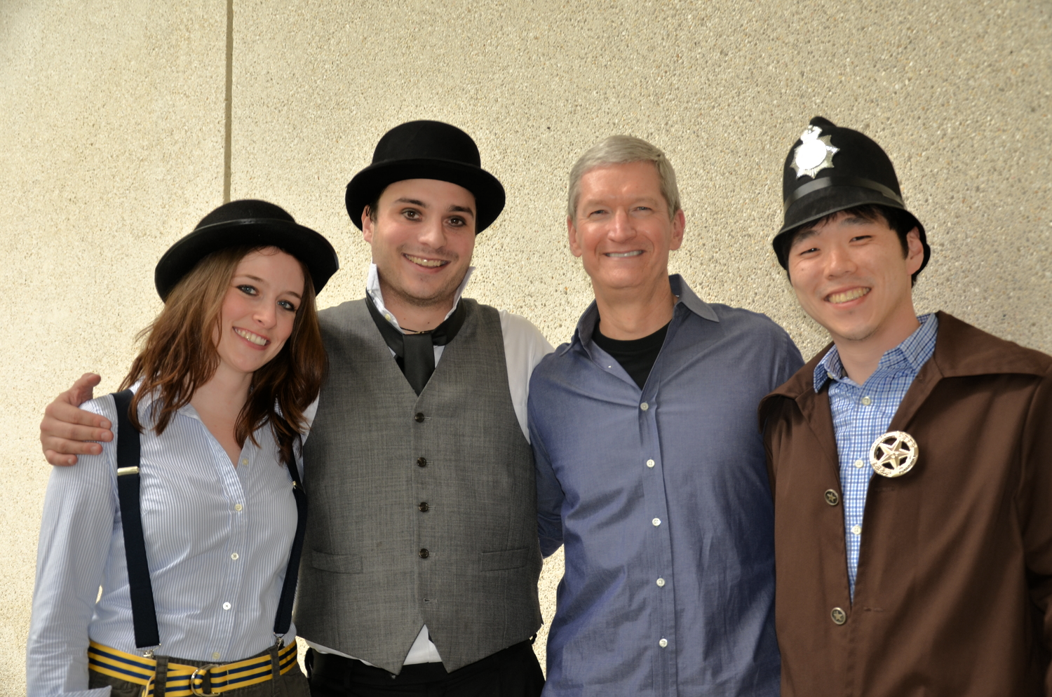 We ran into Fuqua Alum '88 and Apple CEO Tim Cook during one of our filmings...