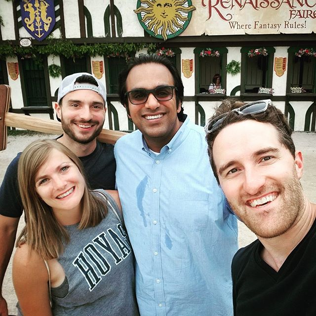 The crew at the Bristol, WI Renaissance Festival. Maryland is still #1 in my book, but ''twas a great day. Miss Paul and Liz being there, so hopefully later this fall ;)