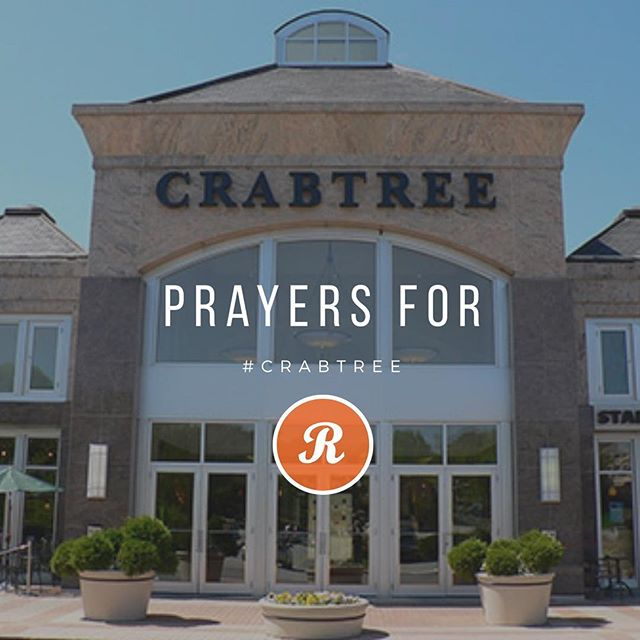 Praying for those at @shopcrabtree keep them and the first responders in your prayers ! #crabtree #raleigh #durham