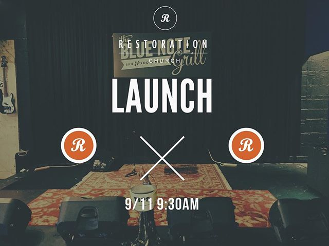 #downtowndurham come join us on 9/11 at 9:30 am @thebluenotegrill Come worship and grab some food and drinks after ! #launch #churchplanting #churchplant #durham #raleigh