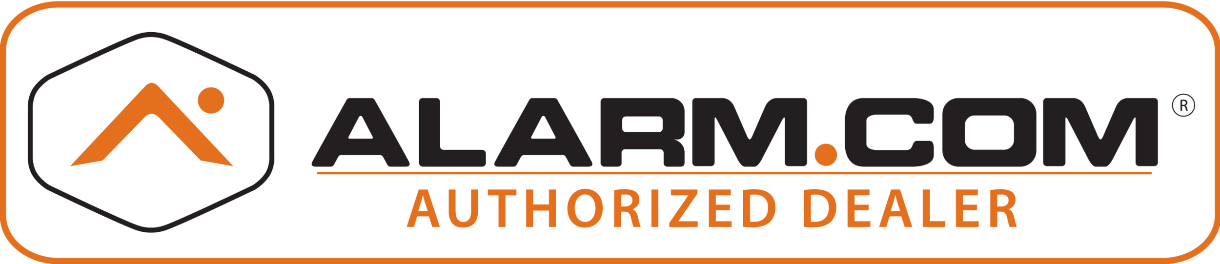 Click this logo to learn more about our Alarm.com offerings