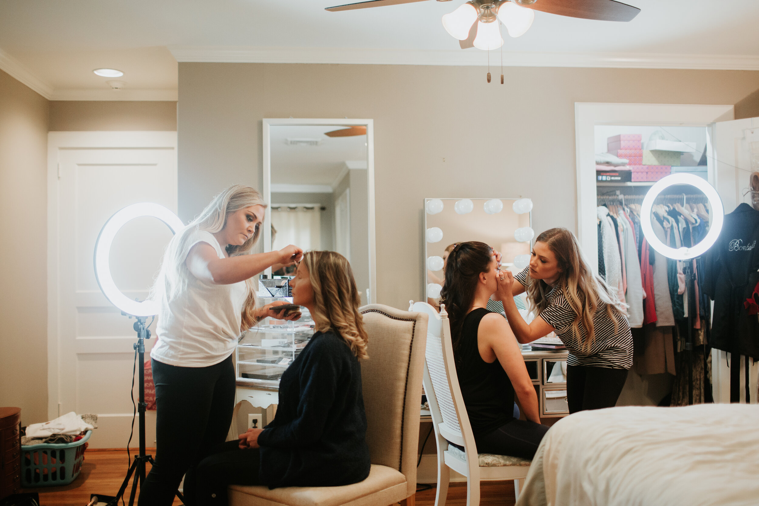 Makeup - If you want to look great on your big day, just leave it to Cameron Knight or Katy Ray!! They are the most amazing and the sweetest people!!