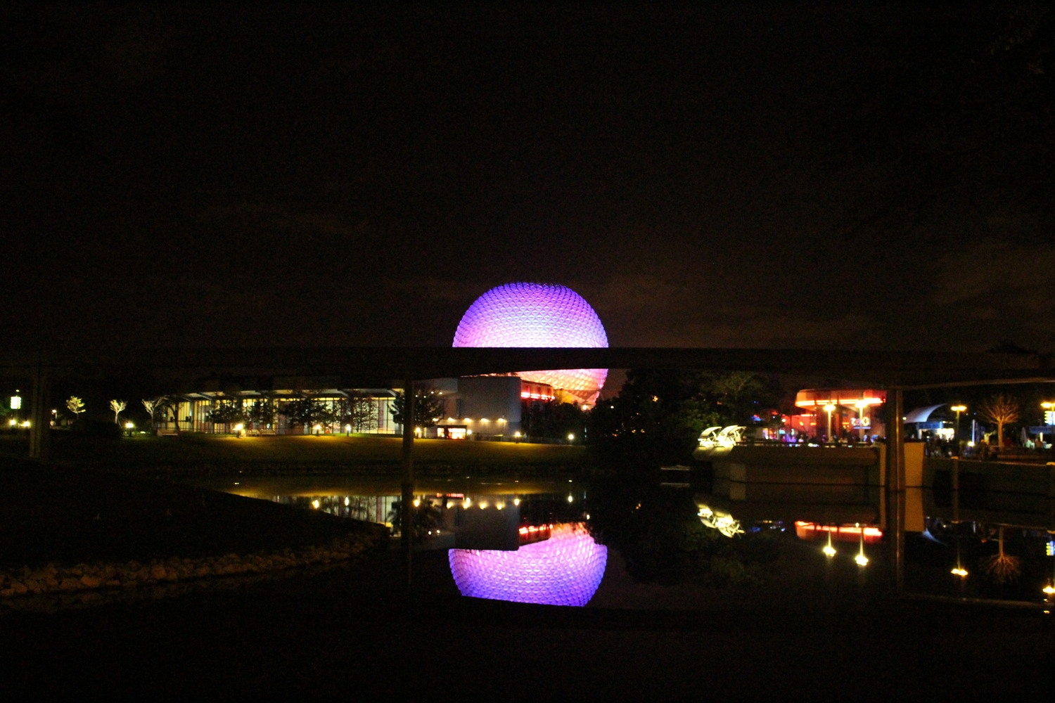 Good night, Epcot!