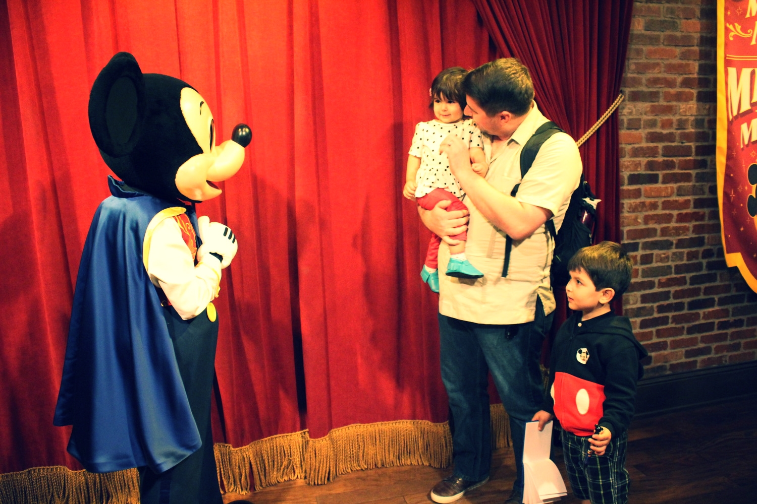Finally met Mickey Mouse!