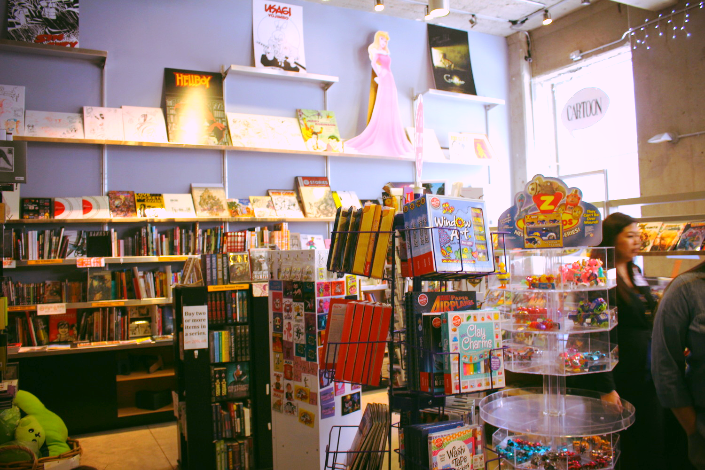 Museum's bookstore.