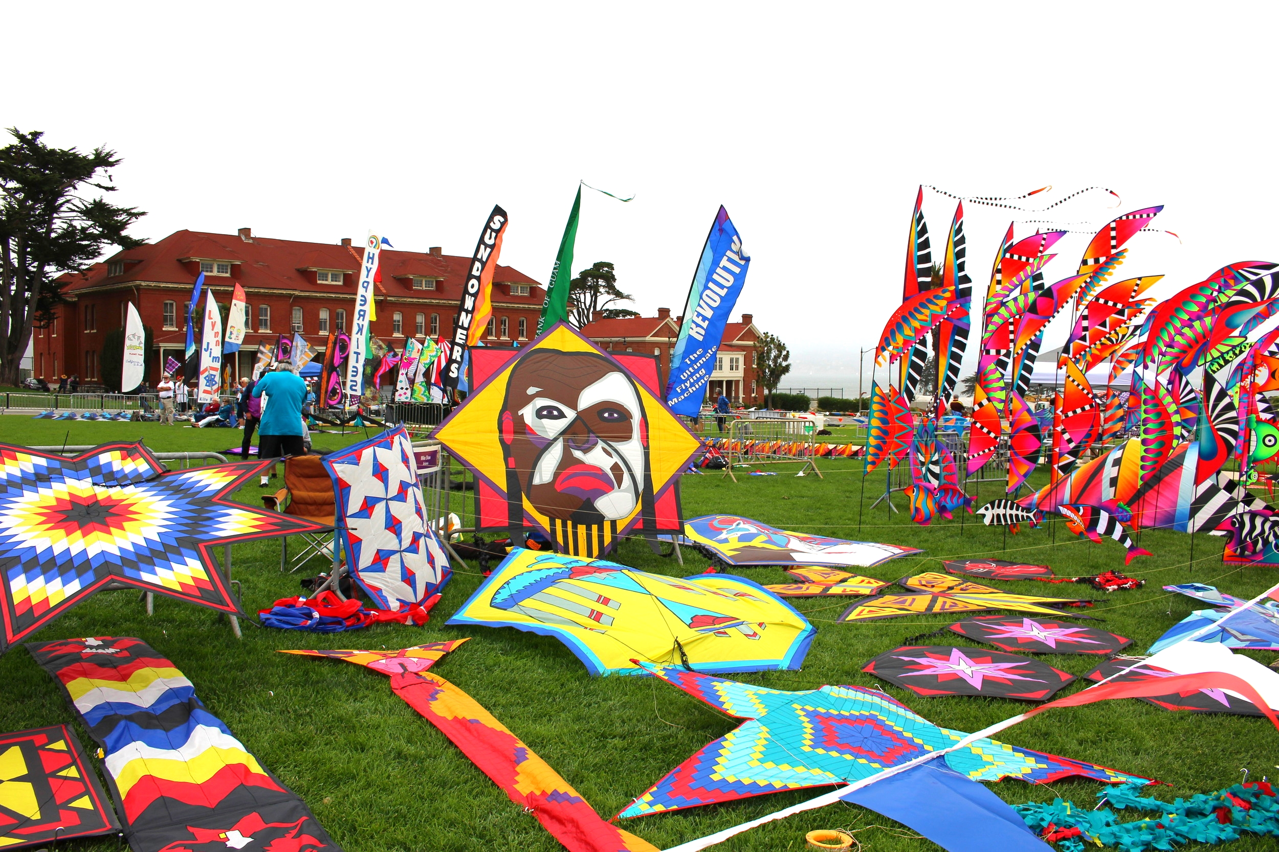 Look at this amazing kites!