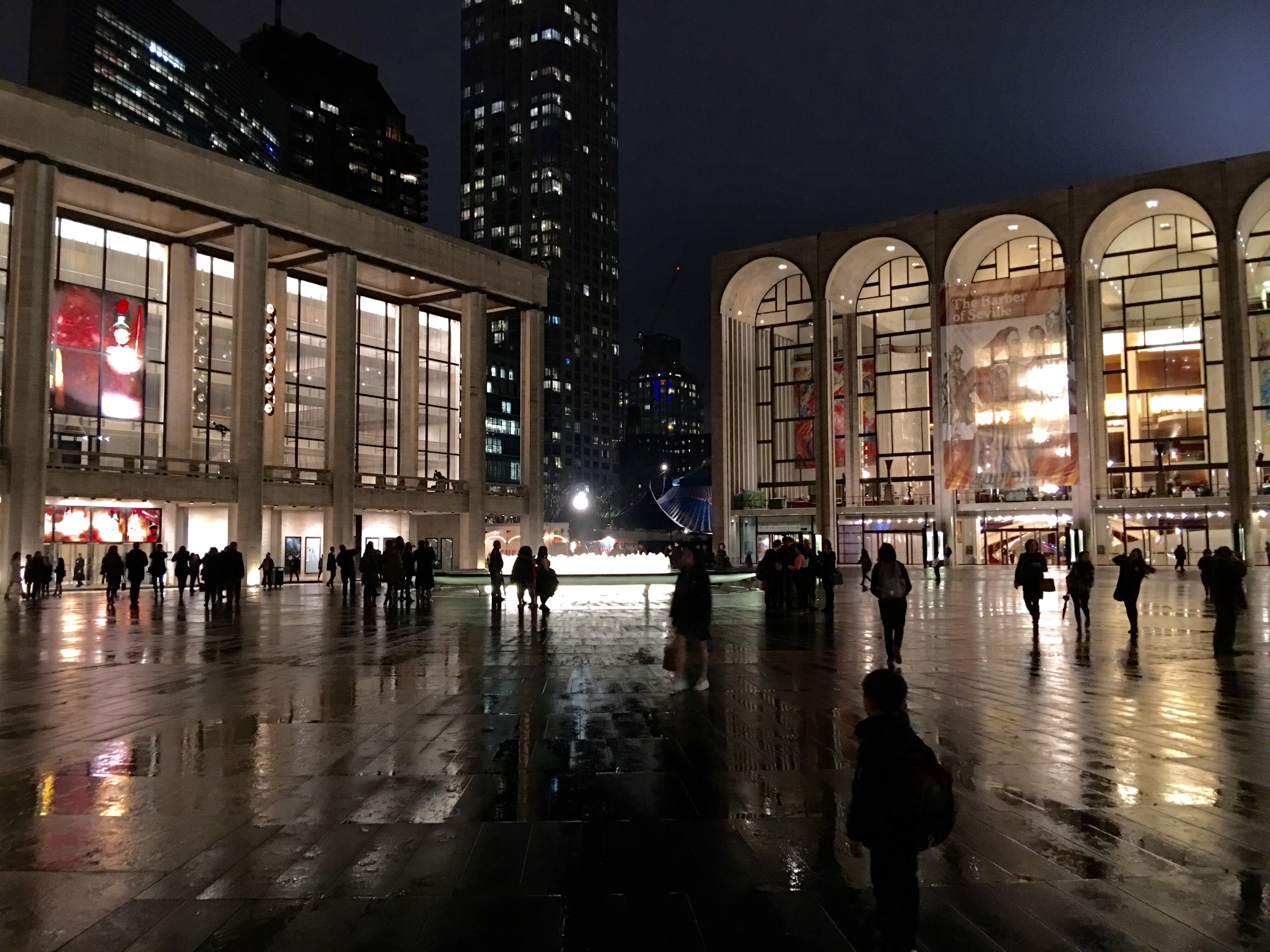 Lincoln Center, I'm coming back!