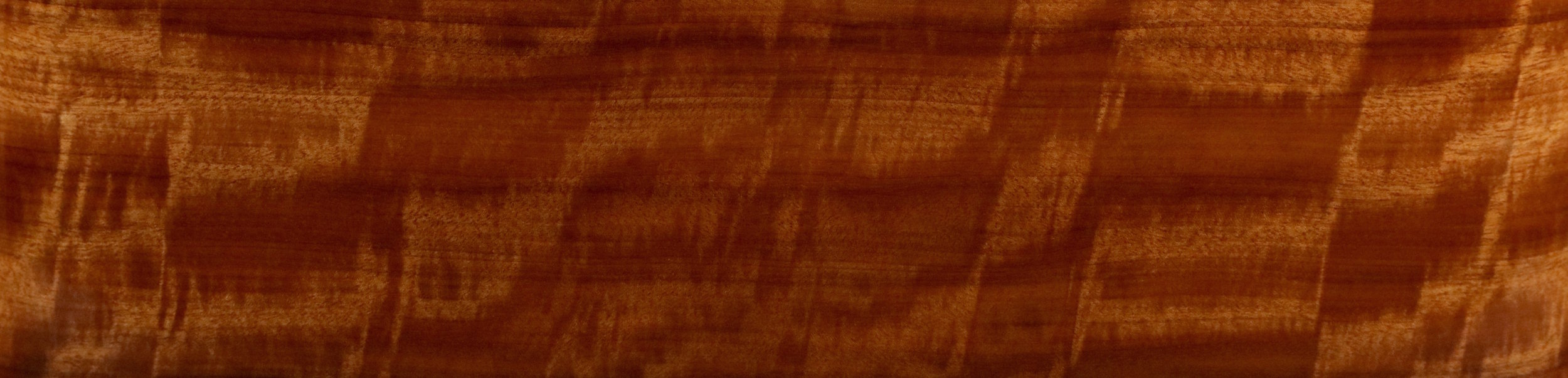 Quilted African Makore