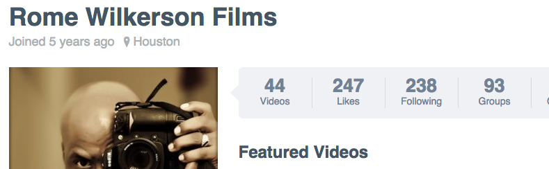 Follow us on Vimeo