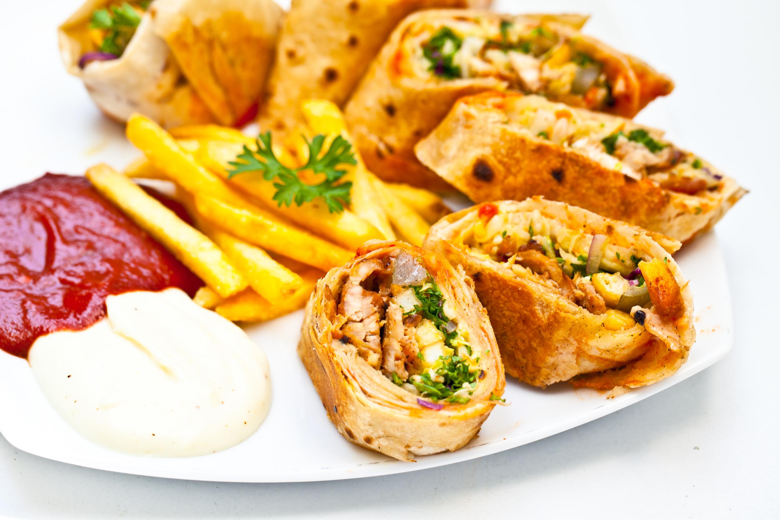 The Arabic Shawarma Plate