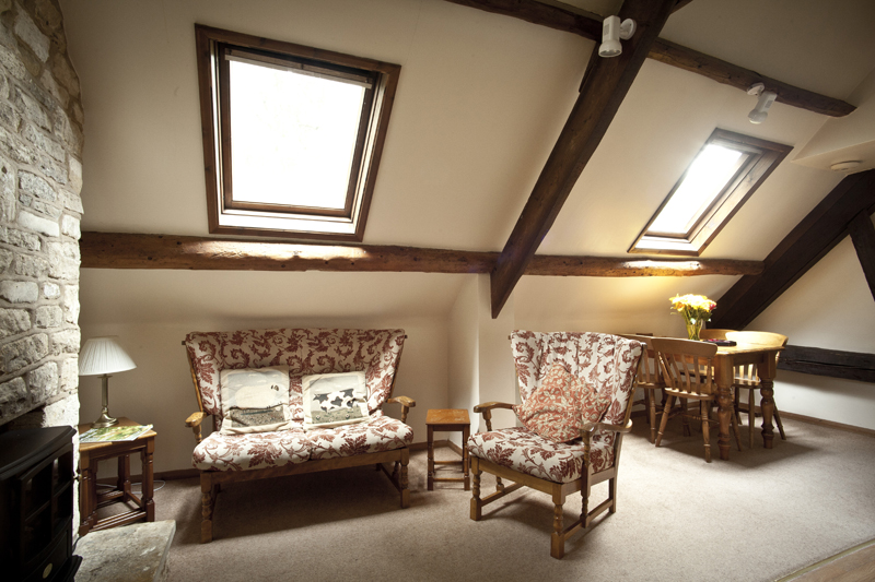 Bibury Holiday Cottages Self Catering Gloucestershire Two Double Bedrooms Living Area