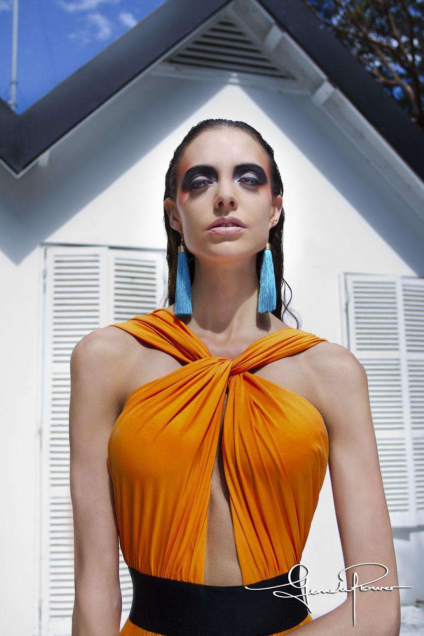 The Gemeli Power Signature Label, The Meilleur Dress in Orange Pop..jpg