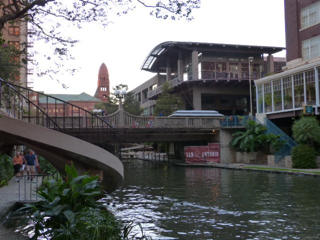 A view of the San Antonio Riverwalk
