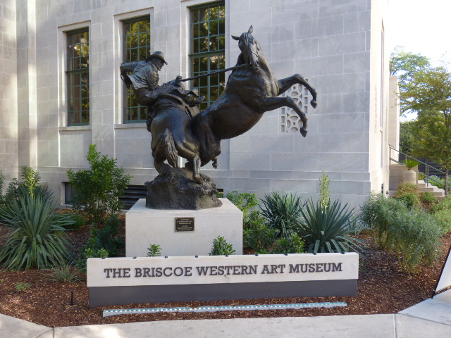 The sign outside the museum is a good indicator of what you will find inside.
