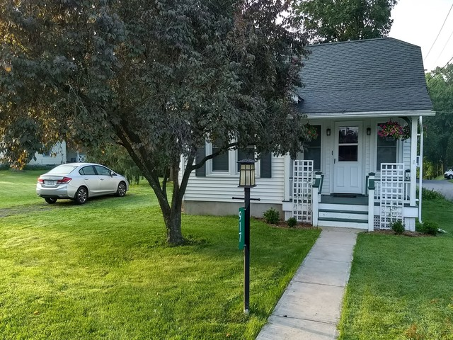 This bungalow was beautifully renovated and was in a quiet neighborhood in East Stroudsburg.