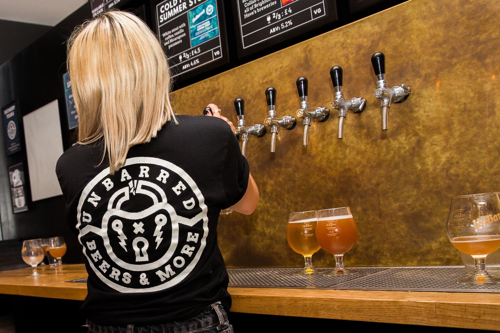 Taproom, pub, UnBarred Brewery Brighton