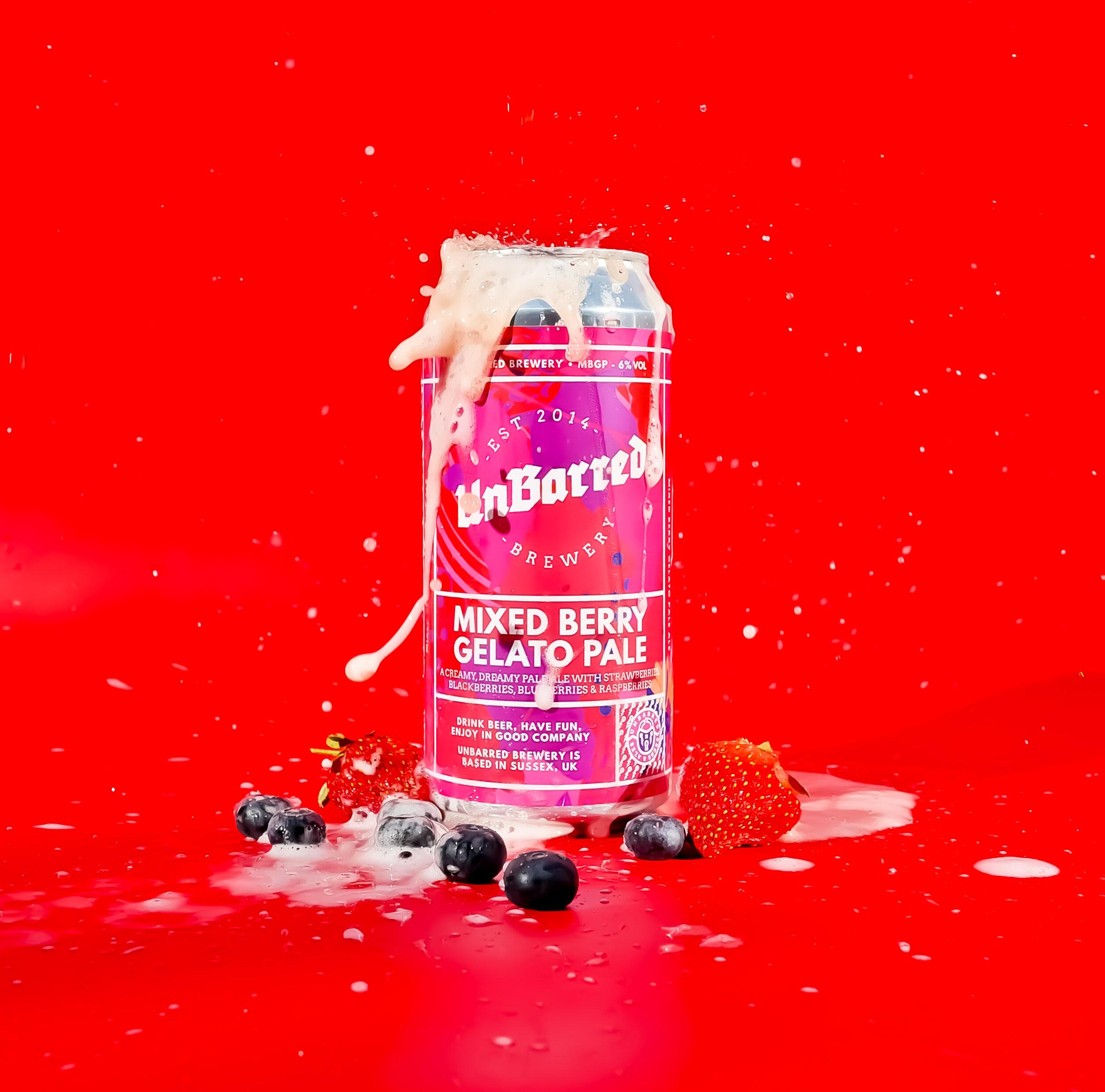 Mixed Berry Gelato