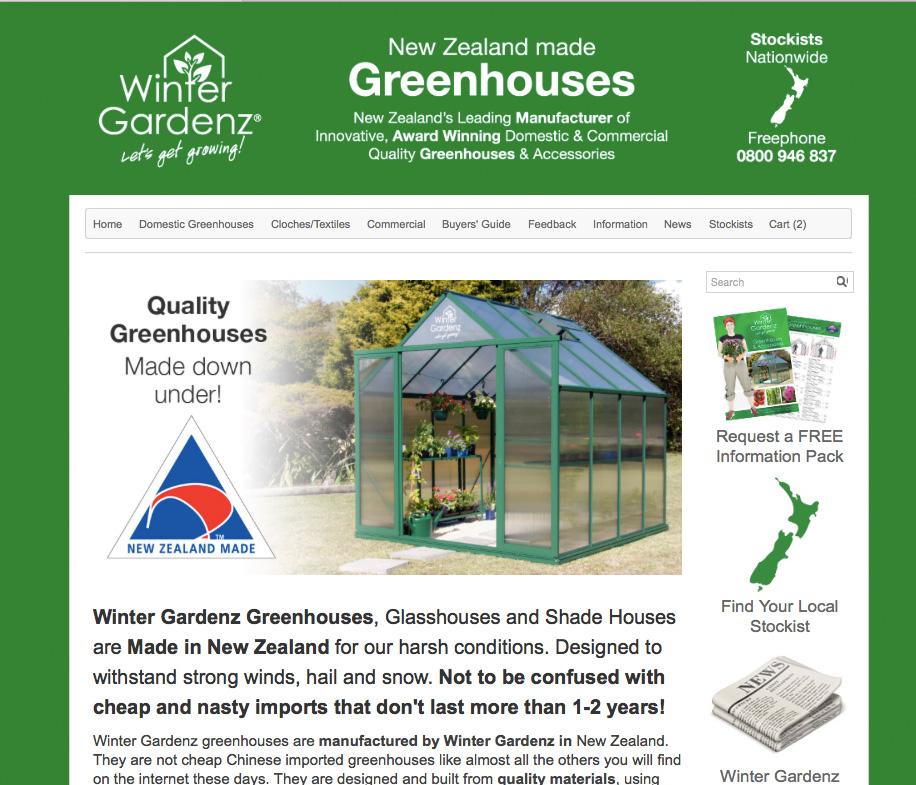 Winter Gardenz  Greenhouses  I Auckland,New Zealand