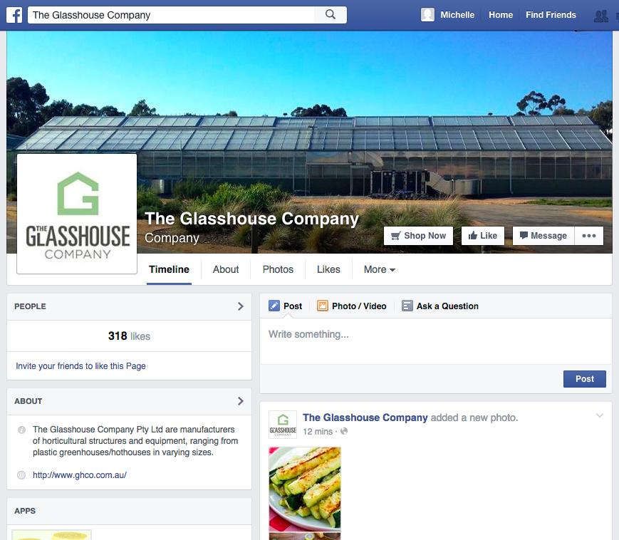 The GlasshouseCompany  I Melbourne, Australia