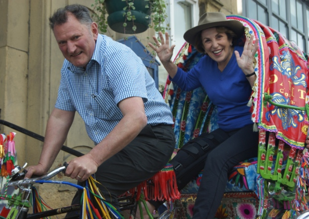 Our director Simon Hawthorne with    Edwina Currie
