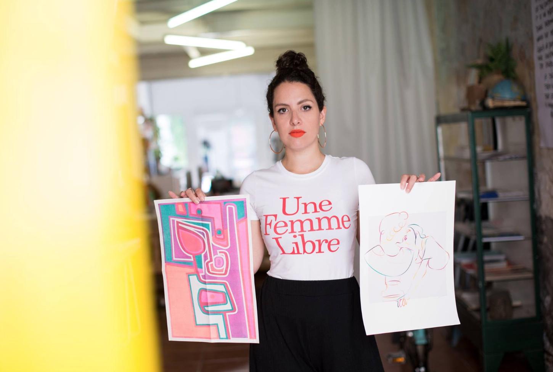 Illustrator Marina Esmeraldo will be speaking at Design Camp
