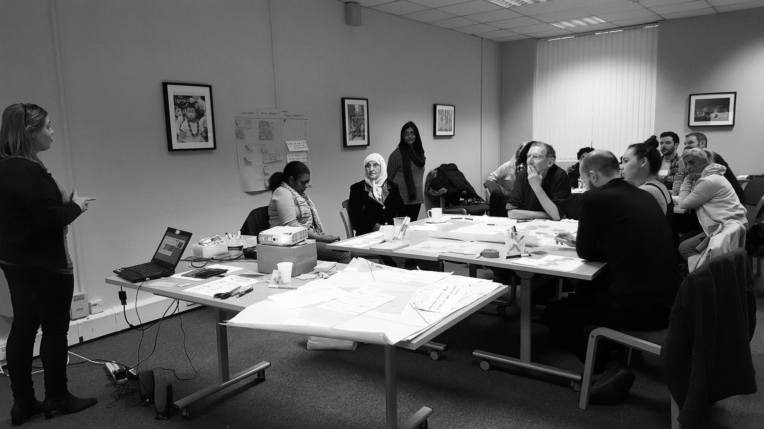 Design Thinking at ArtsEkta