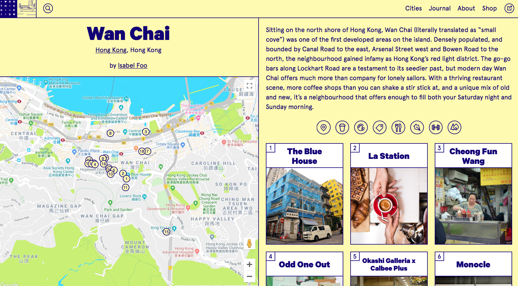 On The Grid HK's Guide to Wan Chai