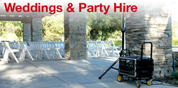 Wedding / Party Equipment Rent HIre