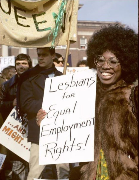 Gay rights protest, Albany, NY. 1971. Photo by Diana Davies, NYPL Digital Collection. via h_e_r_s_t_o_r_y.
