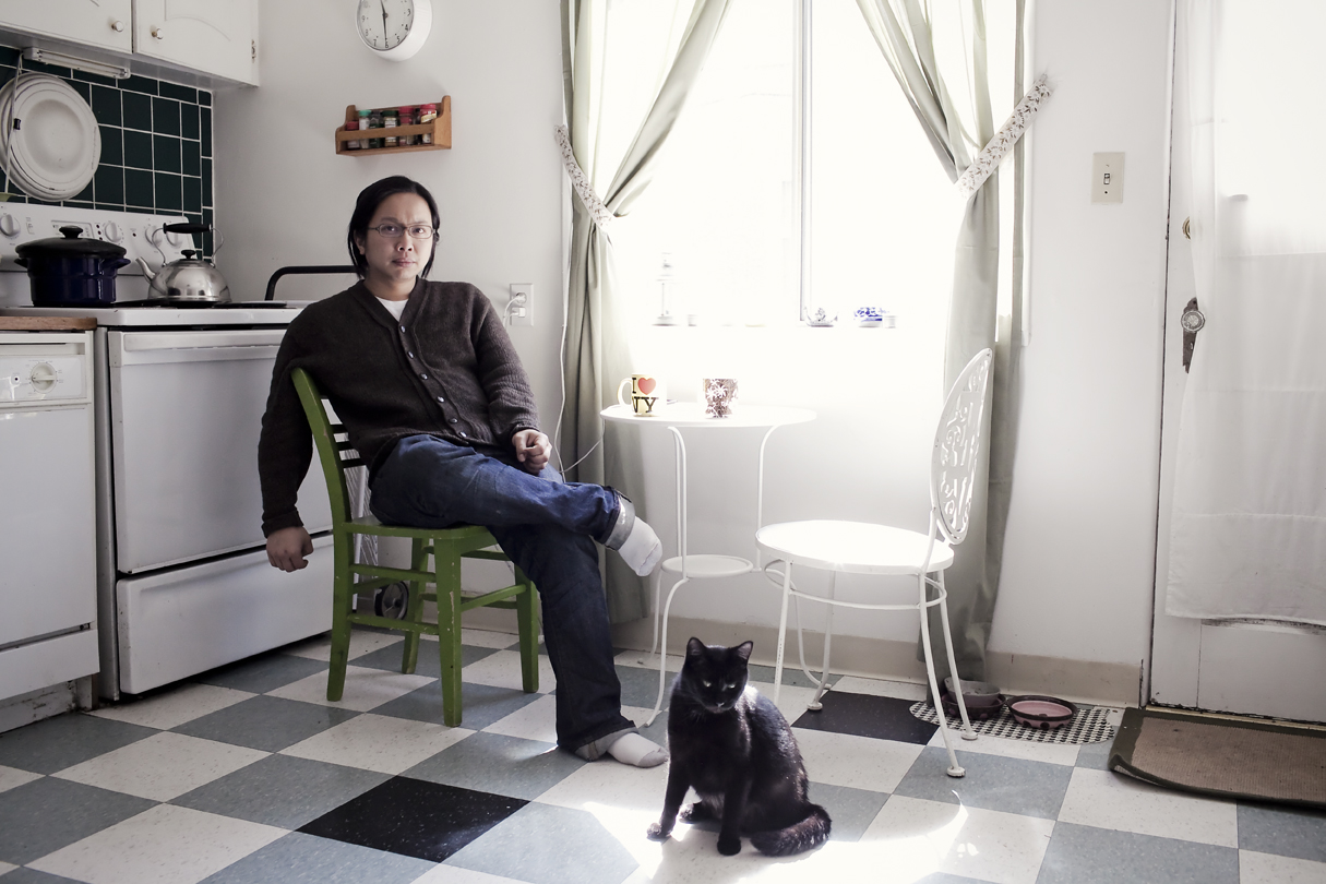 Portrait of Tomo Nakayama taken by Seattle based photographer Dylan Priest