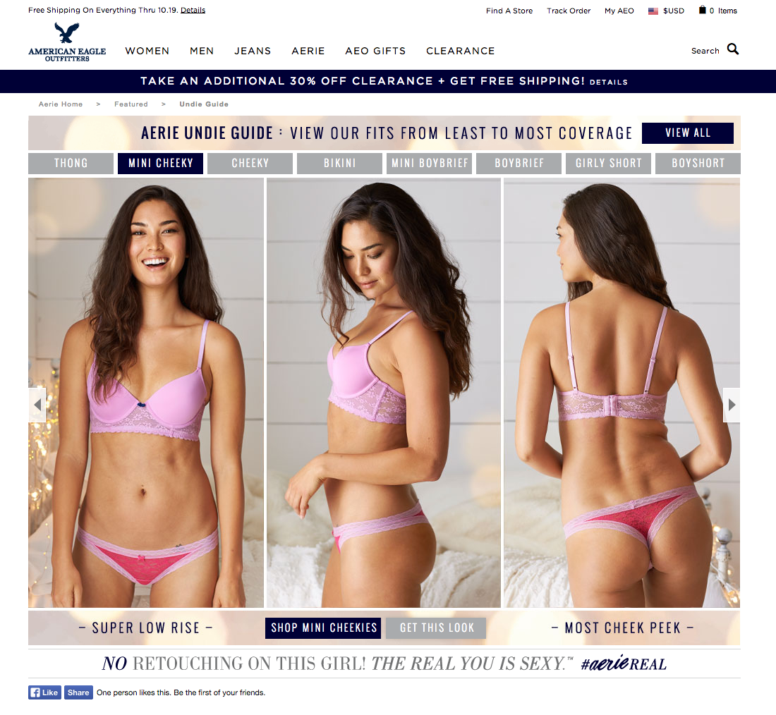 Lifestyle for Aerie by Seattle based photographer Dylan Priest