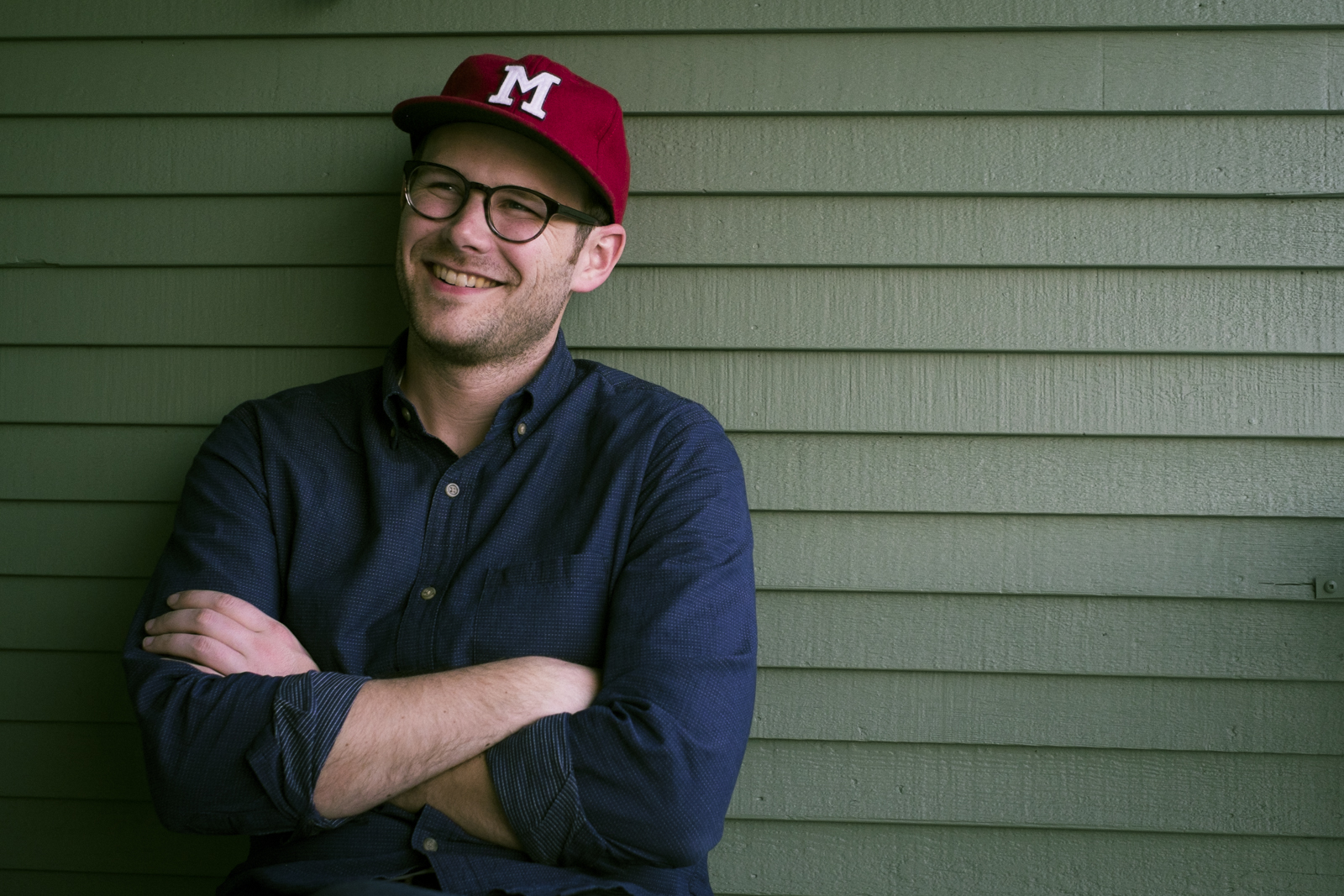 Portrait  of   Tyler Kalberg   taken by Seattle based photographer Dylan Priest