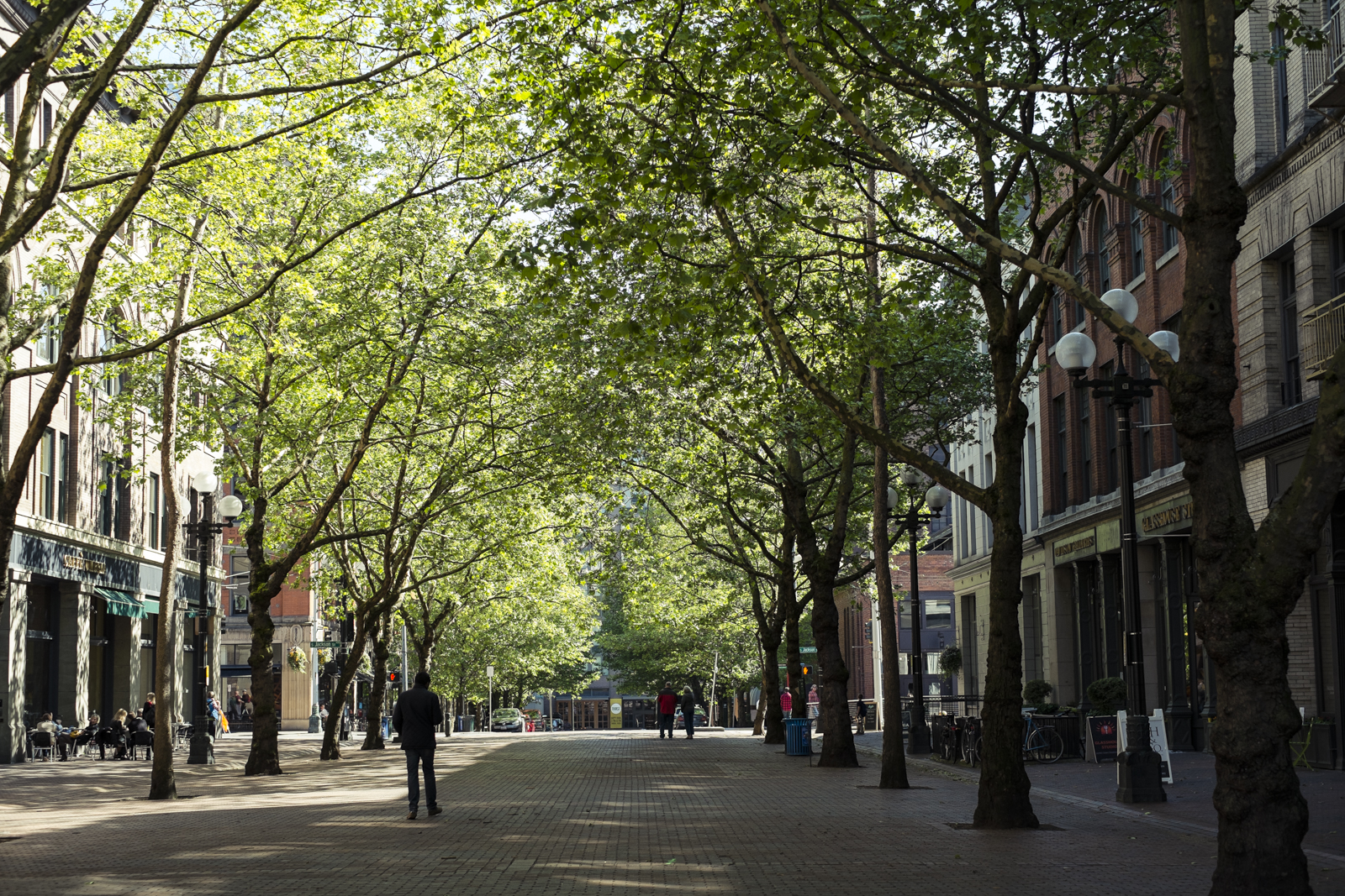 Pioneer Square  in Seattle, WA by photographer Dylan Priest