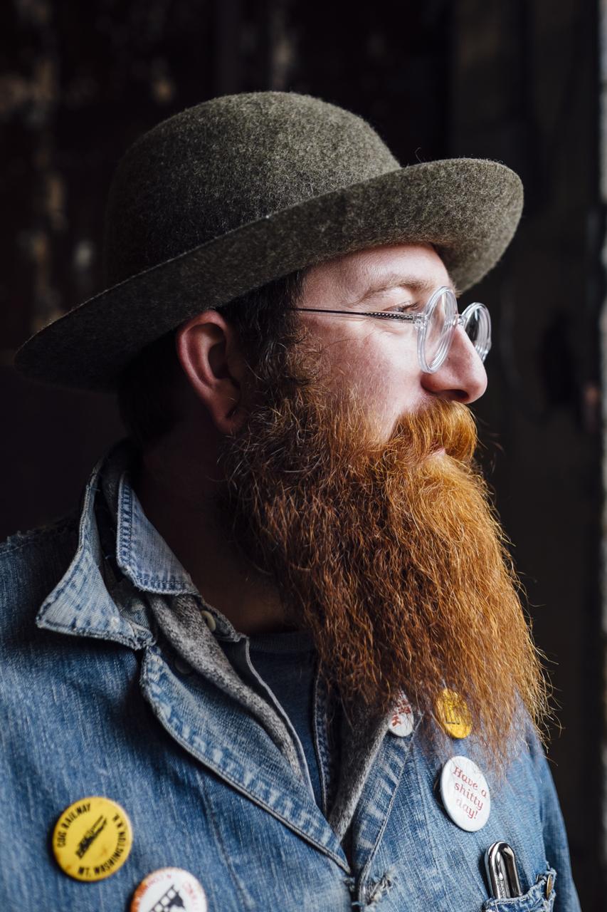 Portrait  taken by Seattle based photographer Dylan Priest
