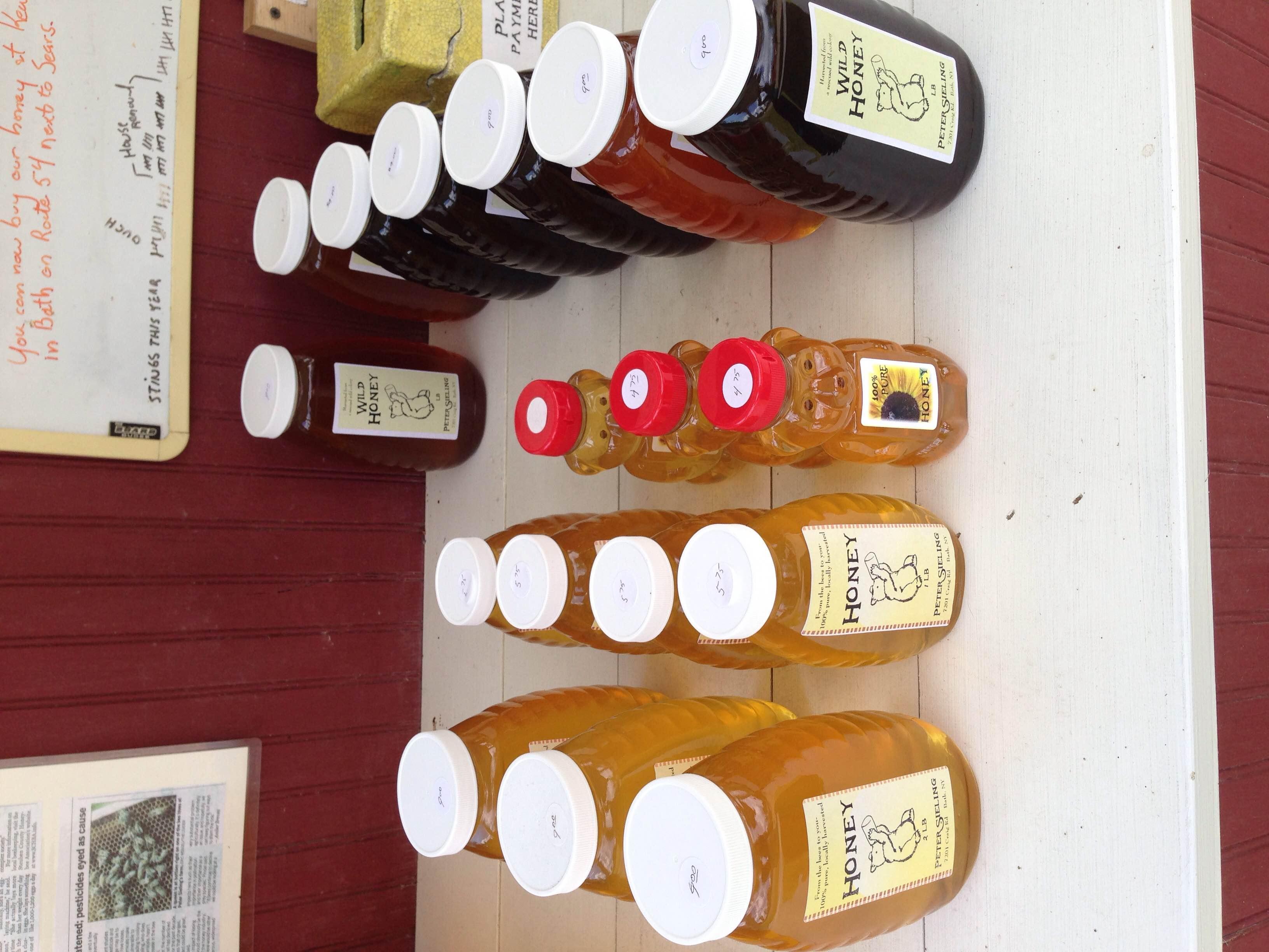 Honey on Honey Stand