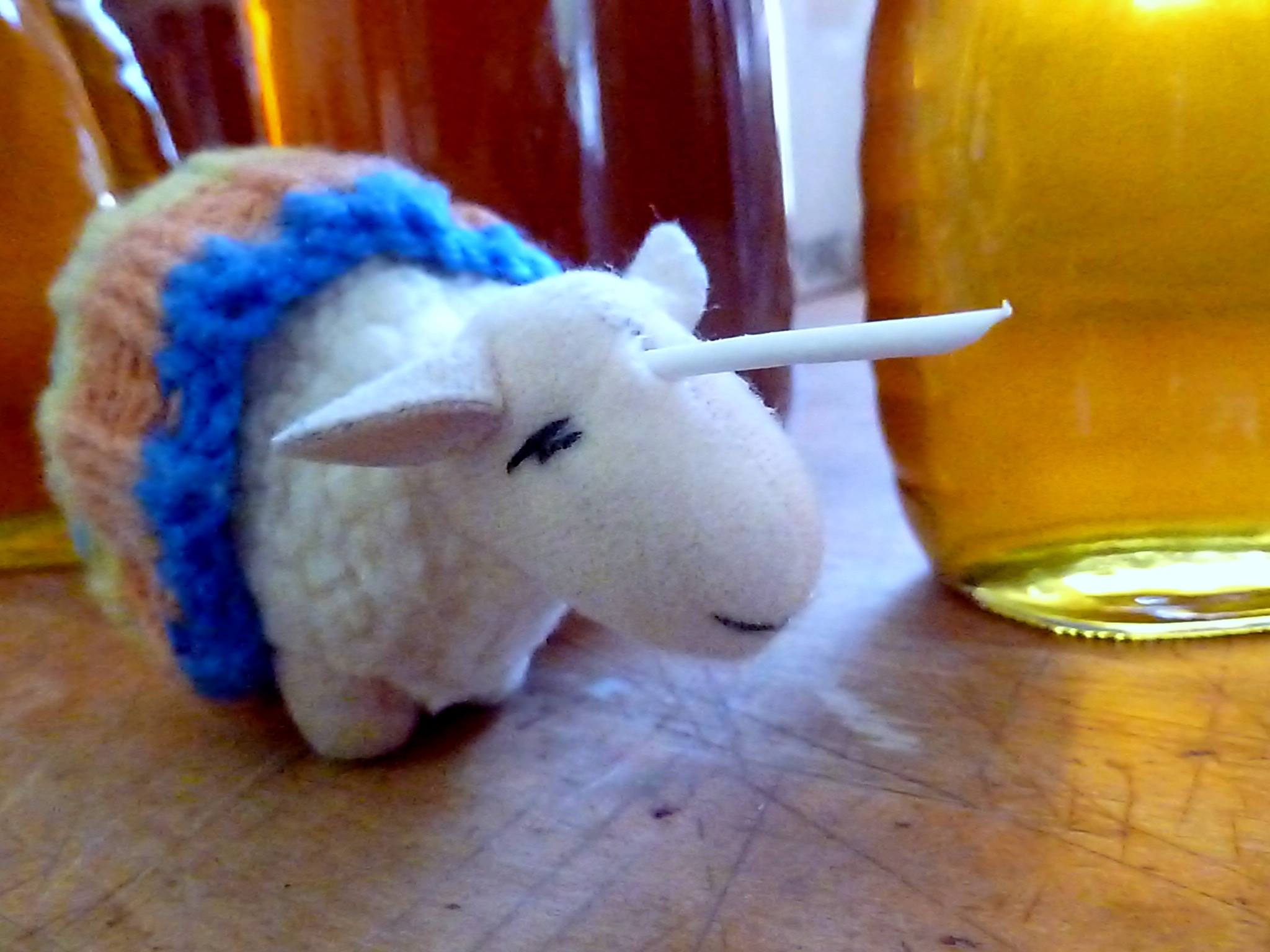 Rutherford visits the honey room, where he gets to taste some delicious honey.