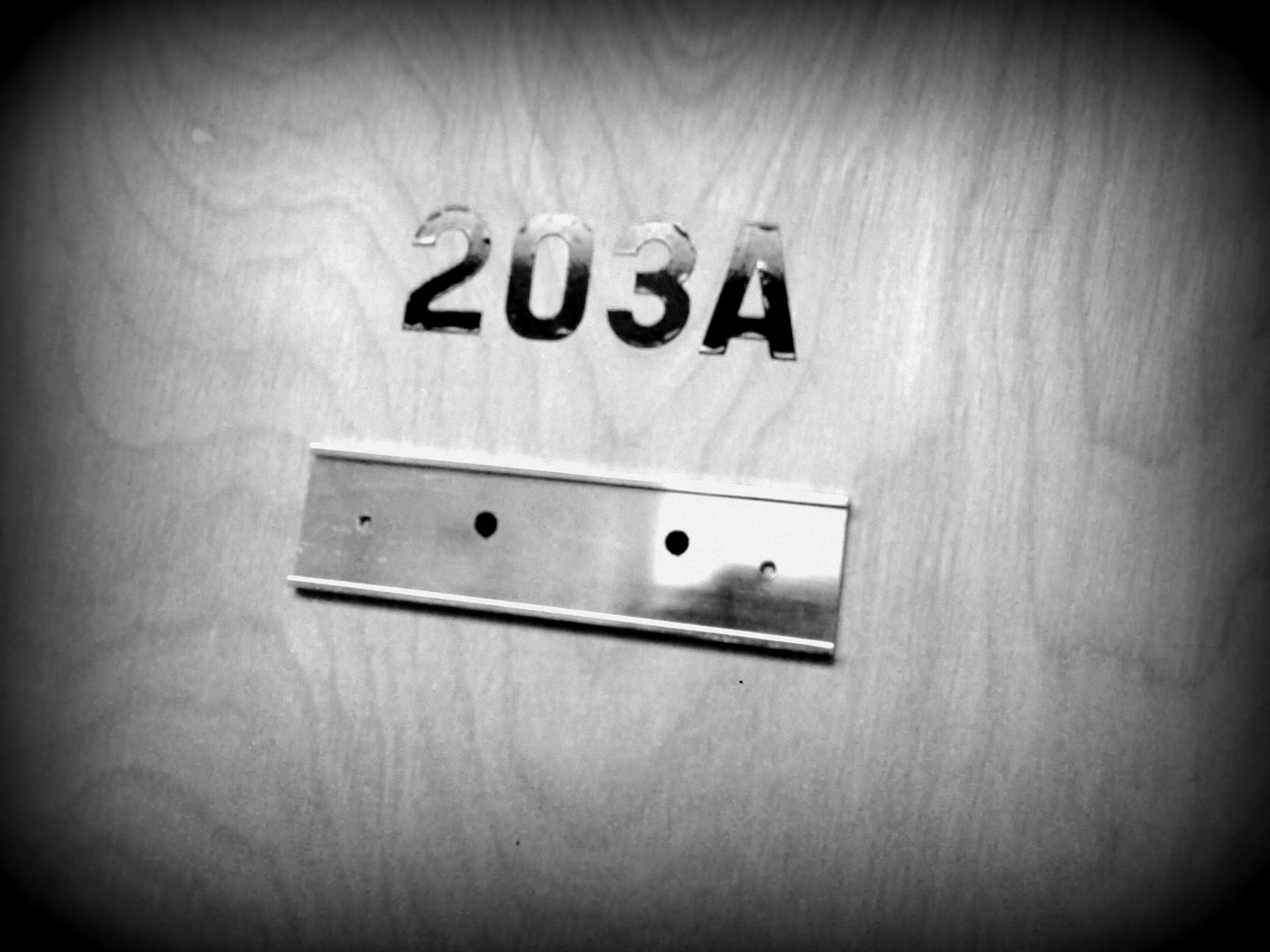 I can't really imagine a better number than 203A.