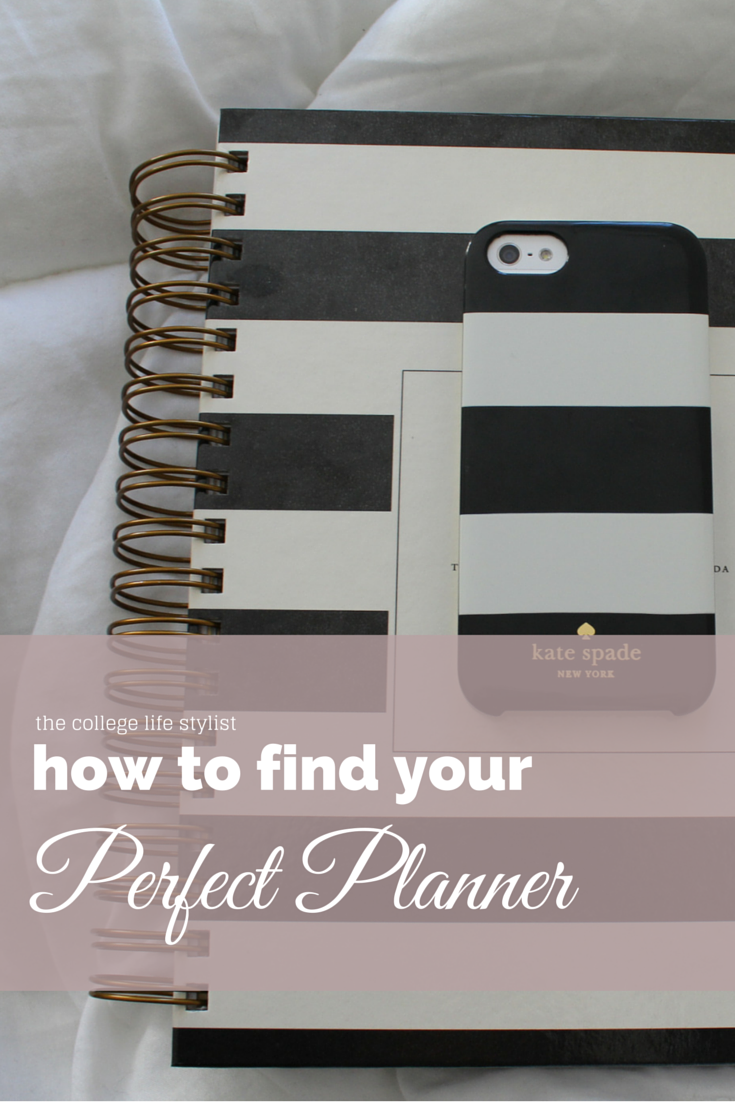 How to find your perfect planner